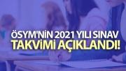 ÖSYM Başkanı Aygün 2021 yılı sınav takviminin açıklandığını duyurdu