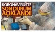 Türkiye'de son 24 saatte 6.818 koronavirüs vakası tespit edildi
