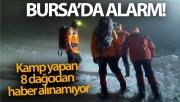 Bursa'da kayıp dağcı alarmı