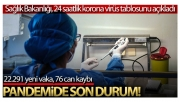 Son 24 saatte korona virüsten 76 kişi hayatını kaybetti