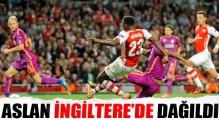 Arsenal, Galatasaray'ı 4-1 mağlup etti