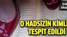Kur'an'ı ayakları altına alan saygısız bulundu