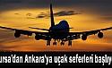 Bursa'dan Ankara'ya uçak seferleri başlıyor!