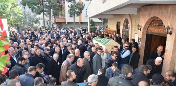 Vedat Şahin'in Cenazesine ünlü Simalar Katıldı
