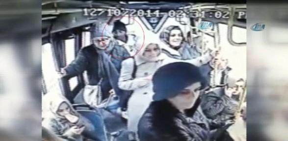Yankesici Işbaşında Görüntülendi