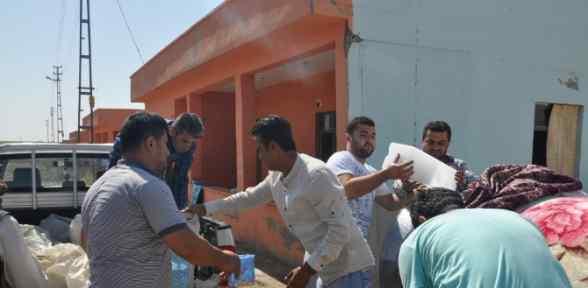 Yezidiler Konutlara Yerleştiriliyor
