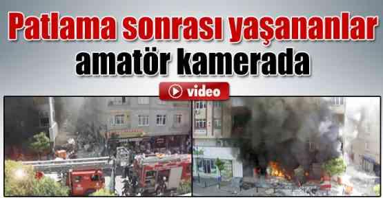 Zeytinburnu'da Hamile Kadının Binadan Atlama Anı Görüntülendi