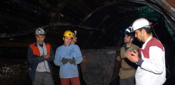 Zonguldaklı Madenciler Karaman'ı Unutmadı