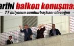 Cumhurbaşkanı Erdoğan'dan tarihi balkon konuşması