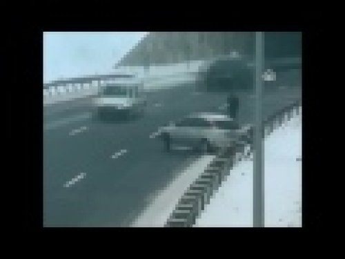 Buzlu yolda meydana gelen feci kazalar