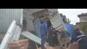 İnegölde korkunç kaza! 2 kişi hayatını kaybetti